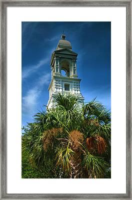 Charleston Belltower Framed Print