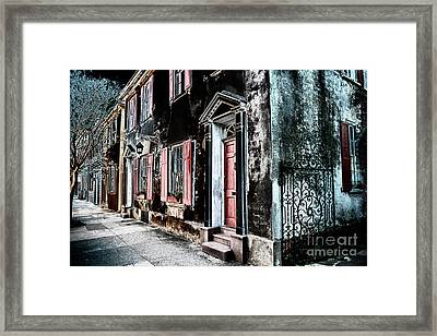Charleston Blackbeard Pirate Framed Print by Dale Powell