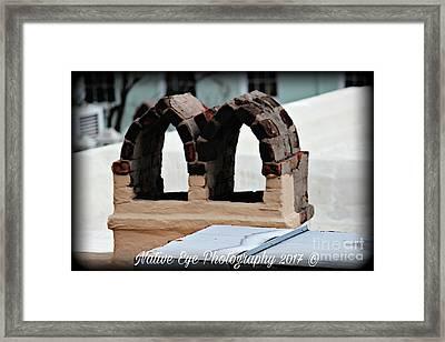 Charleston Chimneys 101 Framed Print