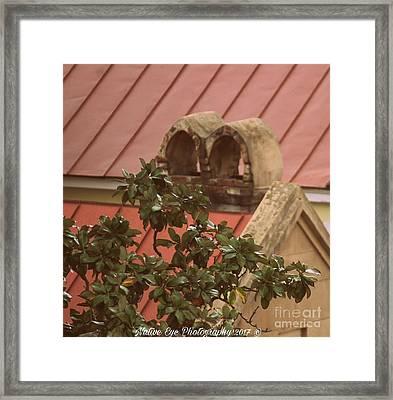 Charleston Chimneys 102 Framed Print