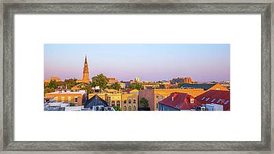 Charleston Glows Framed Print