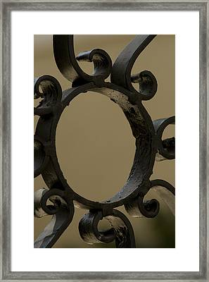 Charleston Ironworks 5 Framed Print by Tom Rickborn