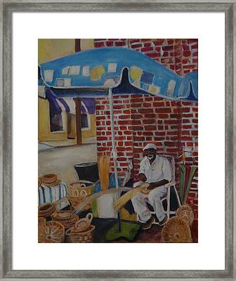 Charleston Market Framed Print