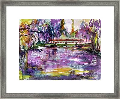 Charleston South Carolina Magnolia Gardens Framed Print