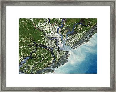 Charleston, South Carolina, Usa Framed Print by Planetobserver