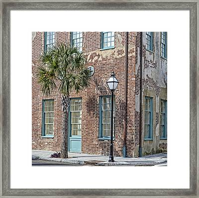 Dock Street Framed Print