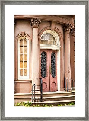 Charleston Style Framed Print