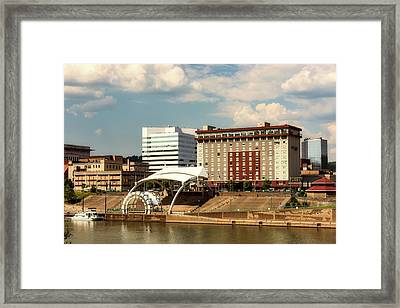 Charleston West Virginia Framed Print by L O C