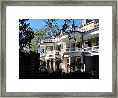 Charlestons Beautiful Architecure Framed Print