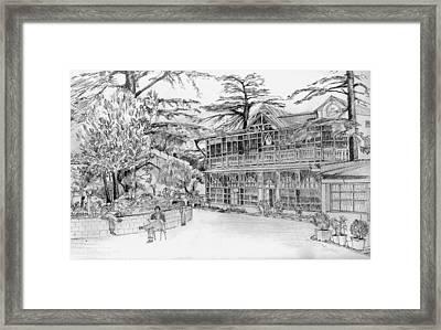 Charleville Framed Print by Padamvir Singh