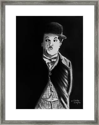 Charlie Framed Print by Arline Wagner