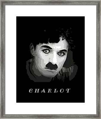 Charlie Chaplin Framed Print by John Keaton