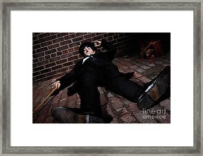 Charlie Chaplin Framed Print by Oleksiy Maksymenko