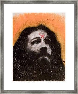 Charlie Is Man Framed Print by Sam Hane