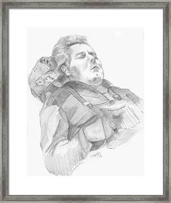 Charlie Framed Print by John Keaton