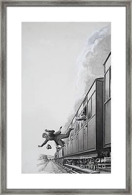 Charlie Peace Framed Print
