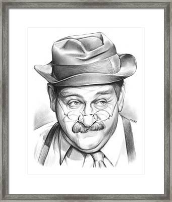 Charley Weaver Framed Print by Greg Joens