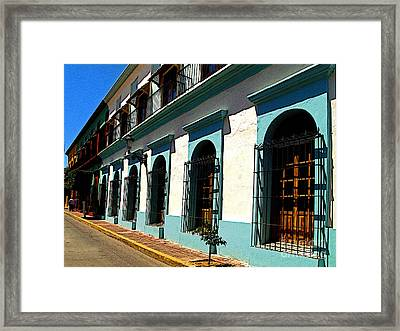 Charlie's House Framed Print by Mexicolors Art Photography