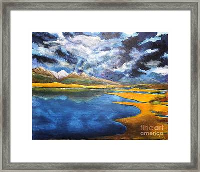 Charlo Morning Framed Print by Chaline Ouellet