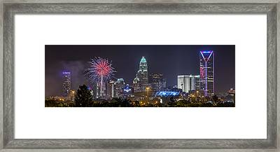 Charlotte Celebration Framed Print by Brian Young