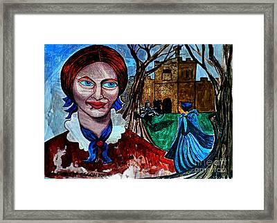 Charlotte Bronte's Jane Eyre I Framed Print