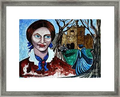 Charlotte Bronte's Jane Eyre II Framed Print