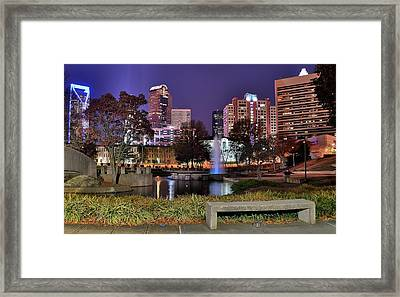 Charlotte From The Park Framed Print