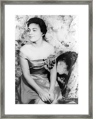 Charlotte Holloman (1922-) Framed Print by Granger