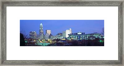 Charlotte Nc Framed Print by Panoramic Images