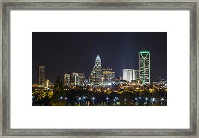 Charlotte Night Framed Print by Brian Young