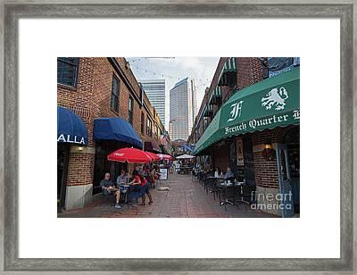 Charlotte, North Carolina Framed Print