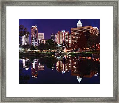 Charlotte Reflections Framed Print