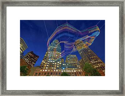 Charlotte Web Framed Print