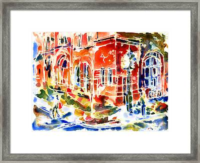 Charlottetown City Hall Framed Print by Yevgenia Watts