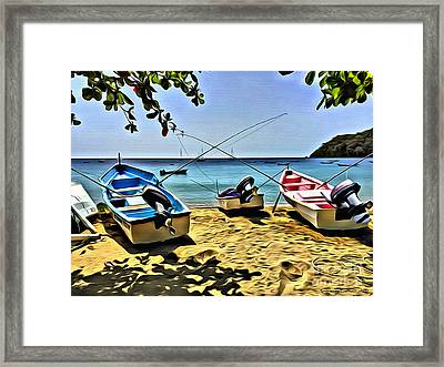 Charlotteville Framed Print by Carey Chen