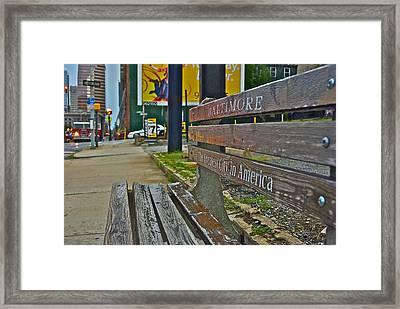 Charm City Framed Print by Thomas Brown
