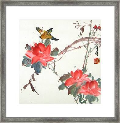 Charm Of Nature Framed Print by Ming Yeung