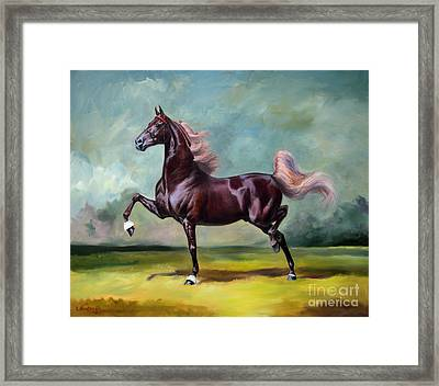 Charmed And Bewitched Framed Print by Jeanne Newton Schoborg