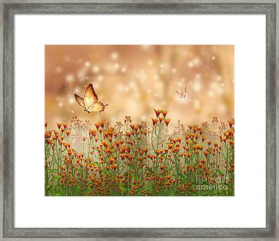 Charmed Blossoms Framed Print
