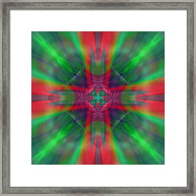 Charmed Luminescence Framed Print