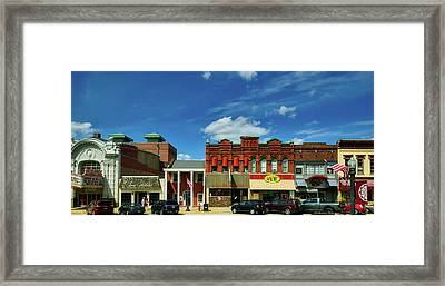 Charming Baraboo Wisconsin Framed Print by Mountain Dreams