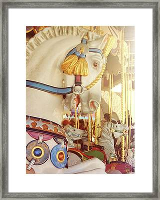 Charming Chariot Framed Print by JAMART Photography