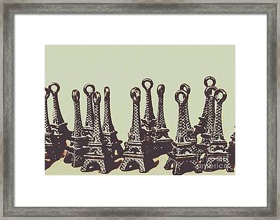 Charming Europe Landmarks Framed Print