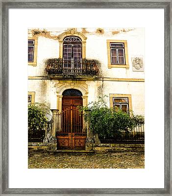 Framed Print featuring the photograph Charming House In Portugal by Marion McCristall
