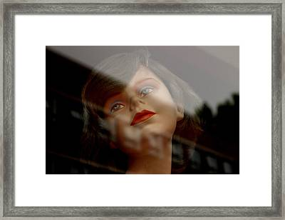 Charming Maybe No So Charming Framed Print by Jez C Self
