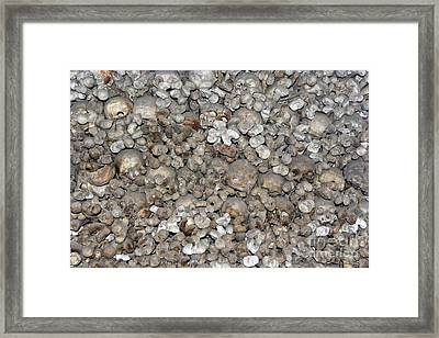 Charnel House Framed Print by Michal Boubin