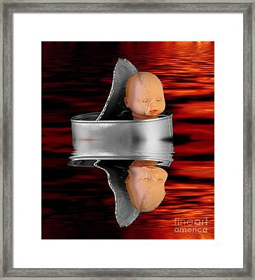 Charon - The Ferryman To The Underworld Framed Print by Michal Boubin