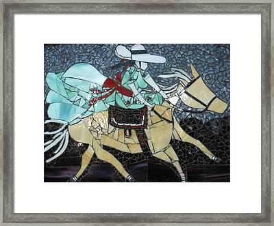 Charra Framed Print by Ann Salas