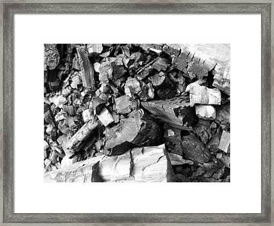 Charred II Framed Print