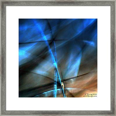 Charter Perfect Storm Framed Print by Jim Young